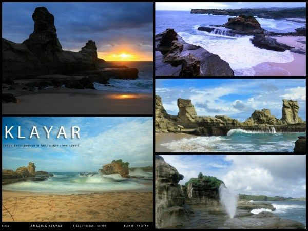 PORTAL INFORMASI - RENTAL MOBIL JOGJA | YOGYAKARTA: Panorama Pantai Klayar - Pacitan