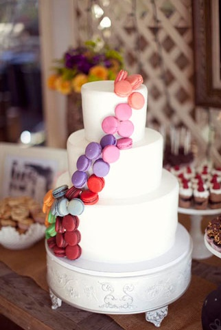 Macarons AND cake? Yes, please!