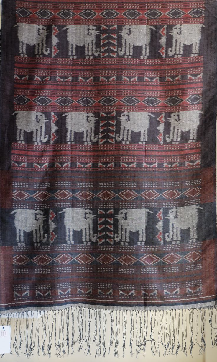 Selendang / Shoulder Cloth of Alor_ Flores Alor is one of the ethnic in Flores…