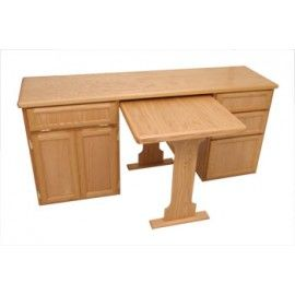 RV Cabinet Desk With Optional Table (700)
