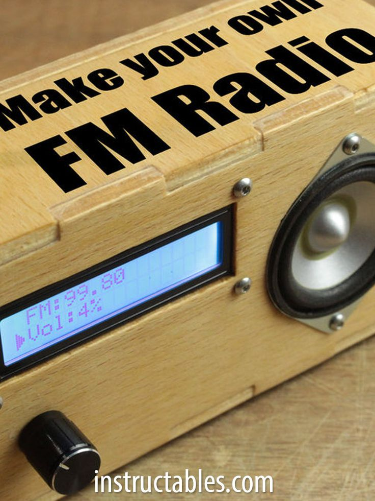 Transform a TEA5767 and Arduino Pro Mini into a functional FM radio.