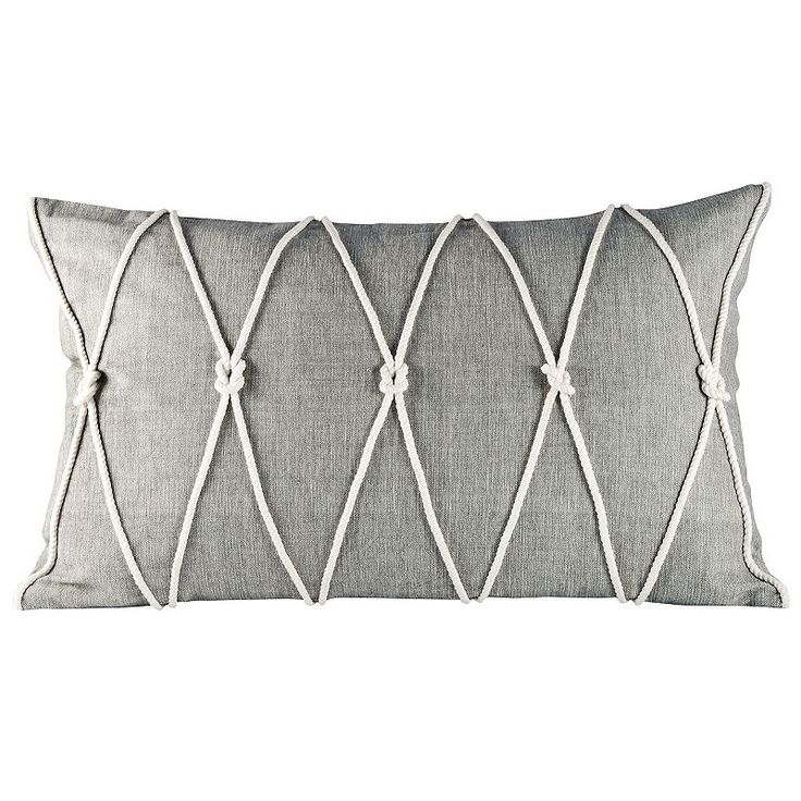 Pomeroy Reef Knot Oblong Throw Pillow, Multicolor