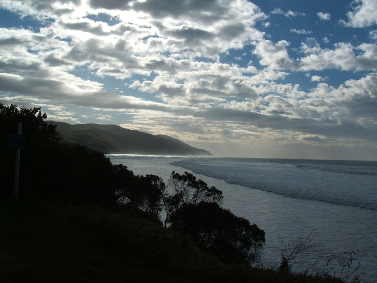 Gore Bay East Coast South Island New Zealand  (mid winter 2012)