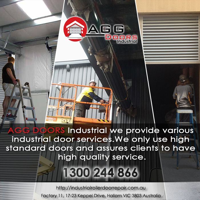 Call AGG Doors Industrial now for free estimate with any of your industrial door requirements.  #industrialdoorrepair #industrialrollerdoorrepair #commercialrollershutterrepair #rollershutterrepairsMelbourne #commercialrollerdoorrepair