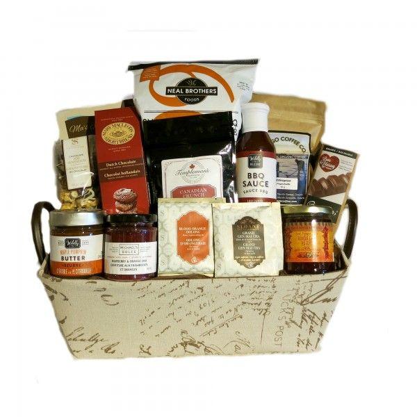 Canadian Gourmet Gift Basket