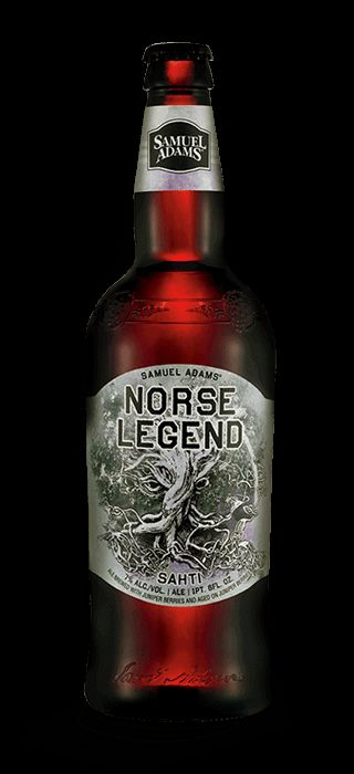 Norse Legend Sam Adams- Deep amber in color, the distinctive herbal citrus aroma and flavor comes from aging on a bed of juniper berries for a fresh and flavorful brew. - Really super good beer
