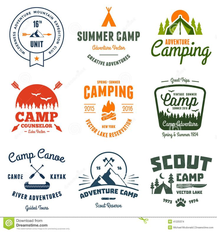 Vintage Camp Graphics - Download From Over 39 Million High Quality Stock Photos, Images, Vectors. Sign up for FREE today. Image: 41225374