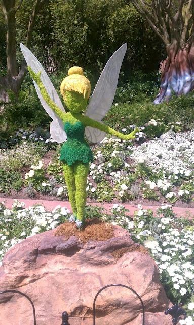 Epcot's Flower & Garden Show 2012 at Walt Disney World Resort Tinkerbell