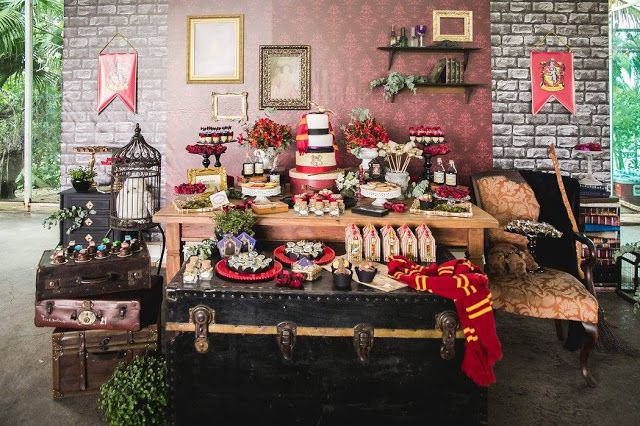 A very creative Harry Potter Party by Invento Festa