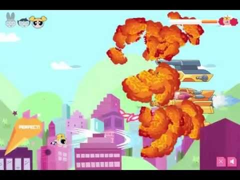 Powerpuff Girls Robot Madness   Girls games