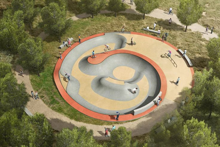 Skatepark Saint Victoret by Constructo