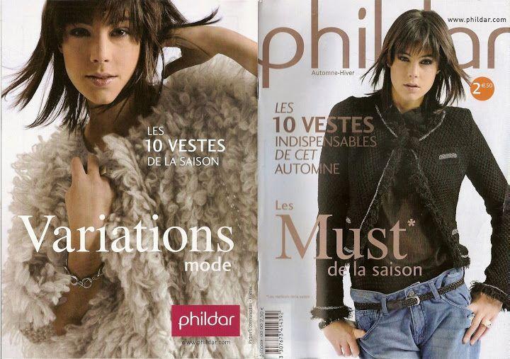 les vestes chez phildar - SISSYTRICOTE SISSYTRICOTE - Picasa Webalbumok
