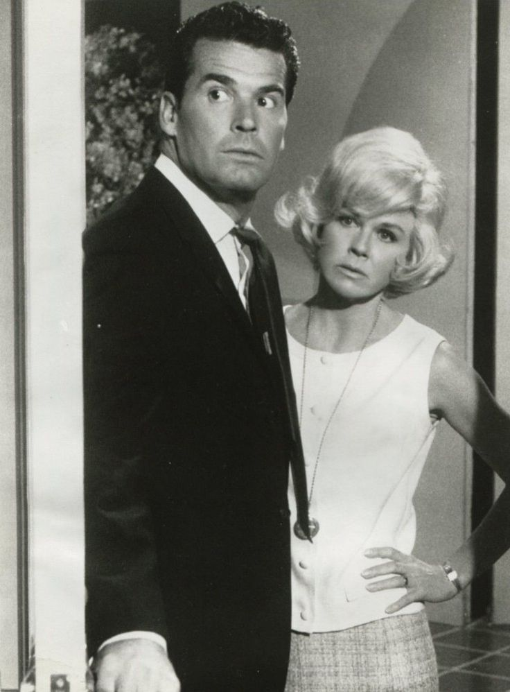Doris Day and James Garner in Move Over, Darling (1963)