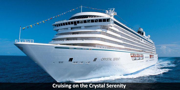 Cruising on the Crystal Serenity - https://windycitytravel.com/cruising-crystal-serenity/ #gocruising #serenity #crystal