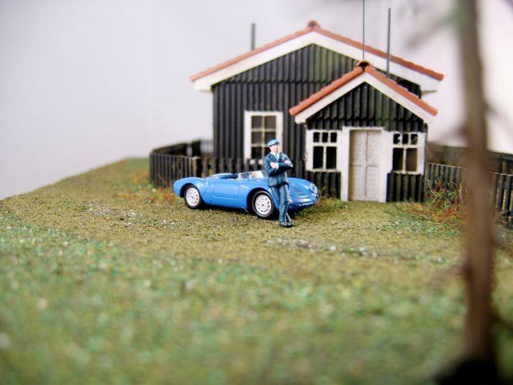 Reconstruction Porsche Factory Office in Gmund @ Miniature Passion for Porsche.