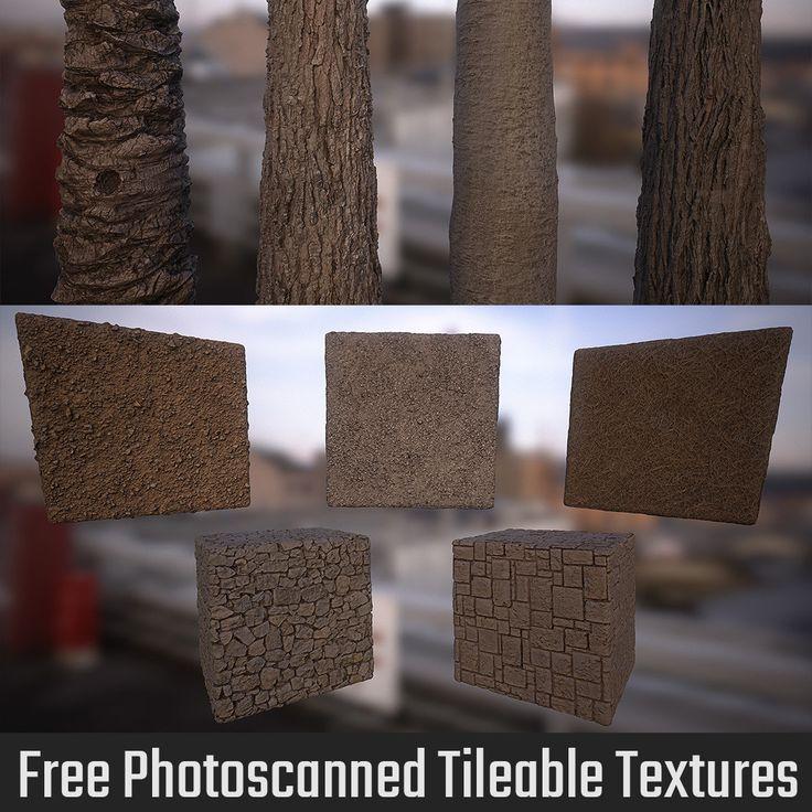 Free Photoscanned Tileable Textures, Franco Pizzani on ArtStation at https://www.artstation.com/artwork/3aKXA