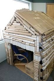 LOVE this for a Three Little Pigs house role play area!