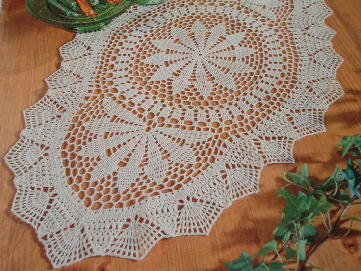 White Cotton Doily Round Crochet Table Runner Easter Placemat Centerpiece  Unique Birthday Gift For Mom Aunt Easter Gift Handmade Homedecor