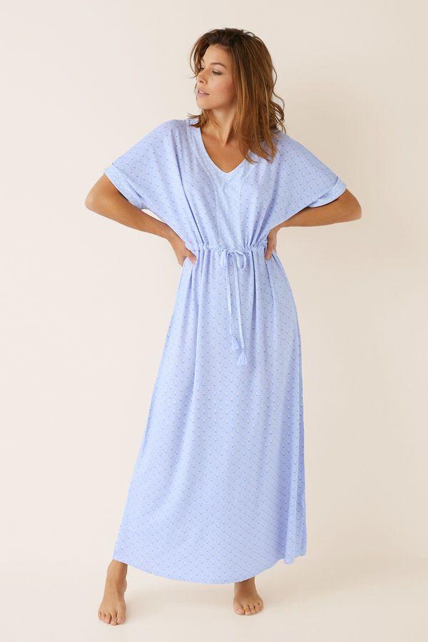 125e0722c0ddfd Womensecret Long floral nightgown printed | Pyjamas in 2019 | Pajama ...