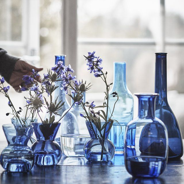 Des vases bleus, IKEA