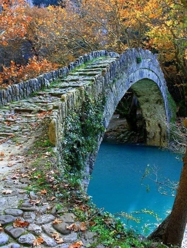 To Do: Epirus, Greece. I'd love to see this ancient stone bridge