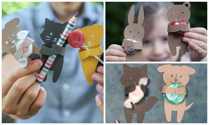 Приятно получать подарки! Согласны? Дети радуются даже маленькой конфетке или карандашу. А если их упаковать вот так оригинально, то такой подарочек запомнится надолго.