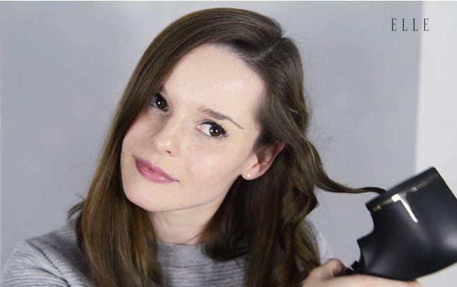 """ELLE-Volontärin Sophie Köllges testet den """"ProCare Auto Curler"""" von Philips"""