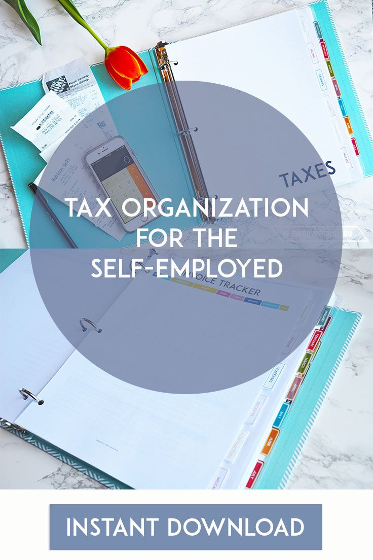 Self Employed Taxes - How to Get Organized