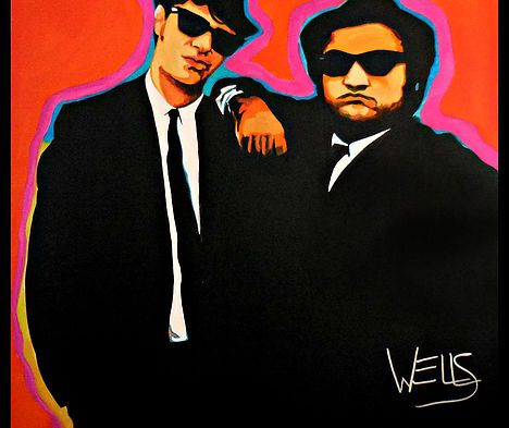 We're Putting The Band Back Together Jake and Elwood of the Blues Brothers