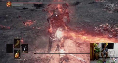 Had To Fight A Butt Ass Naked Samurai - Dark Souls 3