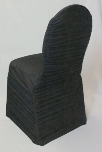 black ruched chair covers lazy boy chairs cover over ballroom wedding weddinginspiration event eventdecor eventdesign