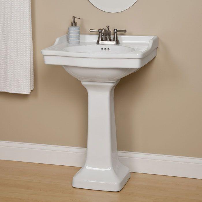 Cierra Porcelain Pedestal Sink Pedestal Sink Pedestal And Sinks