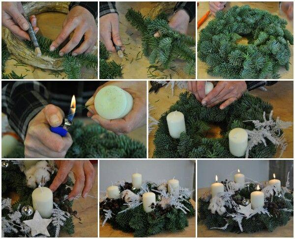 Hoe maak je een klassieke adventskrans? In deze blog op www.christmaholic.nl laten we het stap voor stap zien! Bijna tijd voor de advent. Ga jij kerststukjes maken?