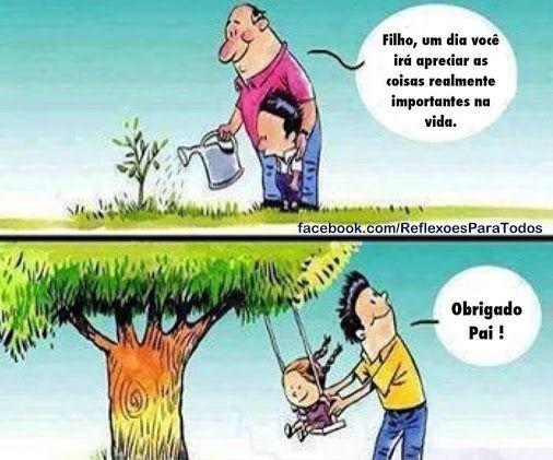 #Pai #mensagem de #reflexao