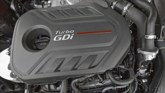 Седан Kia Optima 2016 / Киа Оптима 2016 - двигатель