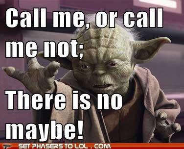 Yoda! haha