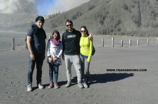 DROP JUANDA: PACKAGE BROMO 2D1N   Today we re-arrival of guests...