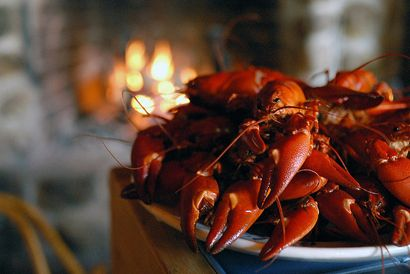 Swedish Traditional Crayfish Party