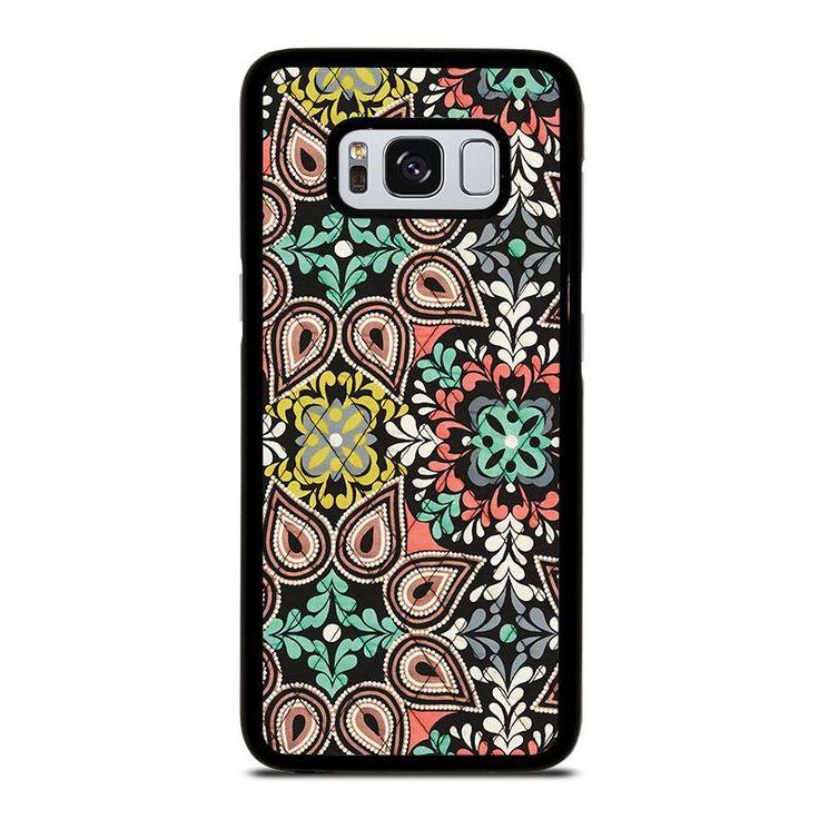 VERA BRADLEY SIERRA Samsung Galaxy S4 S5 S6 S7 S8 S9 Edge Plus Note 3 4 5 8 Case Cover