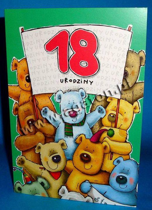 Kartka 18 urodziny