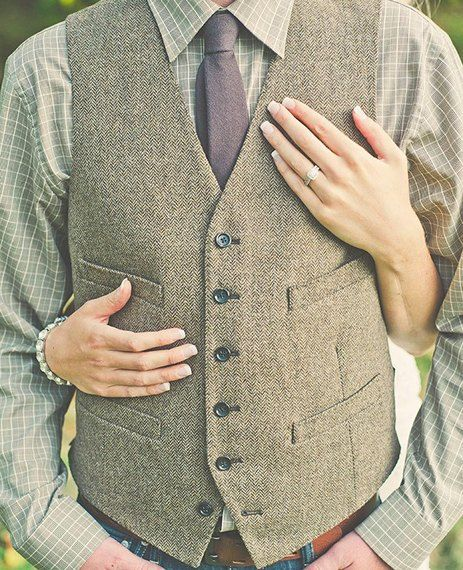 The Latest Groom Trend? Lumberjack Chic|The Knot