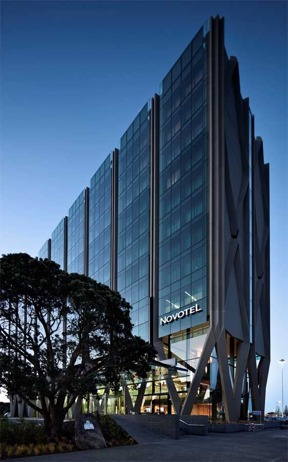 Novotel Auckland Airport Hotel, New Zealand - design by Warren and Mahoney