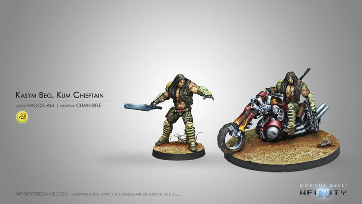 Kasym Beg, Kum Chieftain (Chain Rifle)