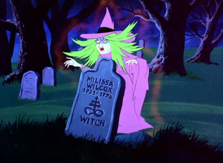 "The Scooby Doo Show, 1978, Episode 28 - ""To Switch A Witch"" - The Witch of Salem"
