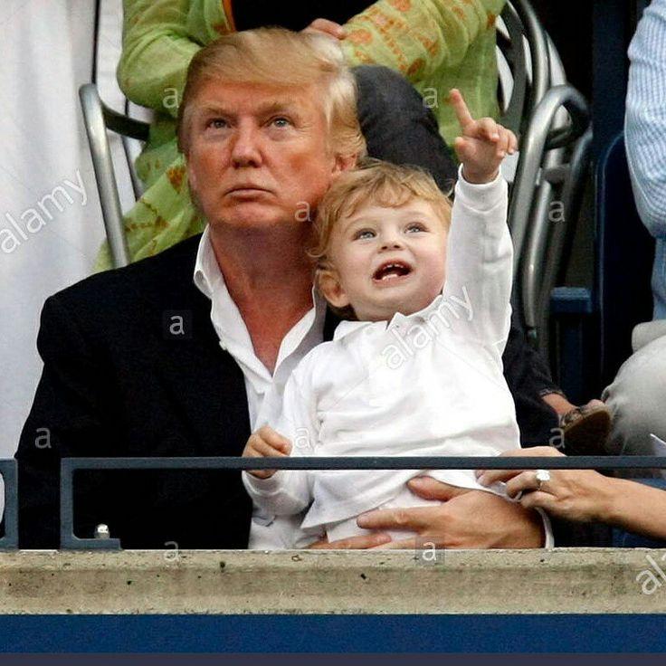 Donald & Barron Trump