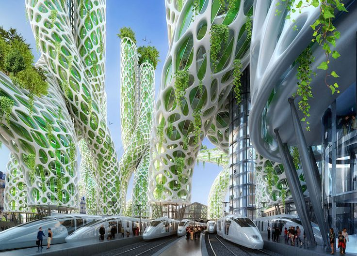 Extrem 13 best Ville futuriste images on Pinterest | Futuristic  VY55