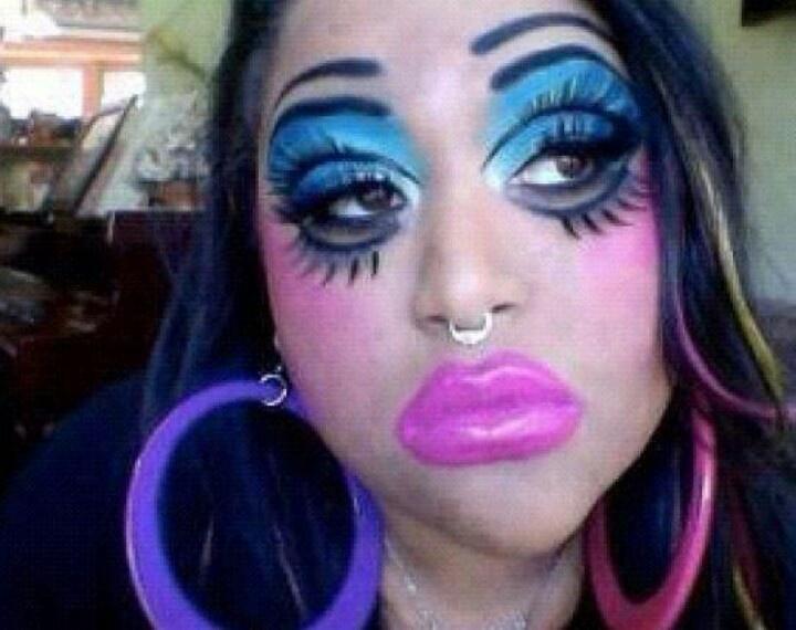 Bad bitch makeup