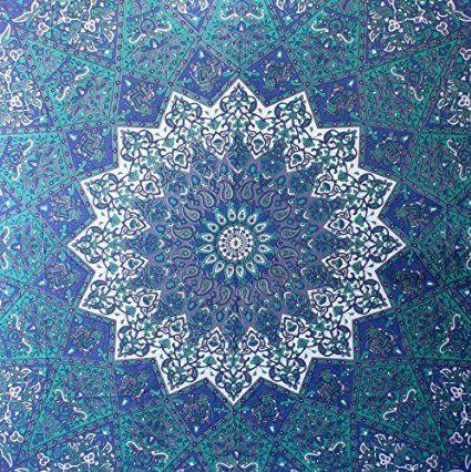 Amazon.de: Handicrunch Hippie- Mandala Wandteppiche