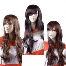 Human hair pruik