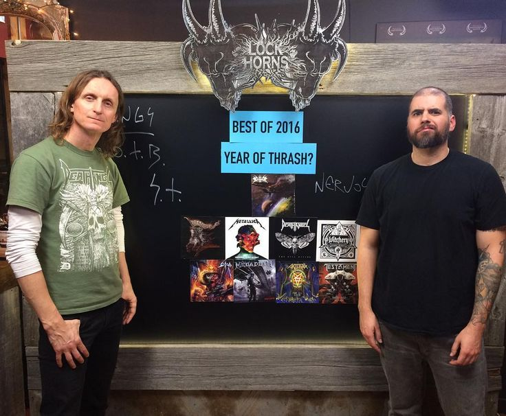 """276 kedvelés, 16 hozzászólás – BANGER (@bangerfilms) Instagram-hozzászólása: """"Thanks to everyone who joined us debating the best thrash albums of 2016.  Shoutout to…"""""""